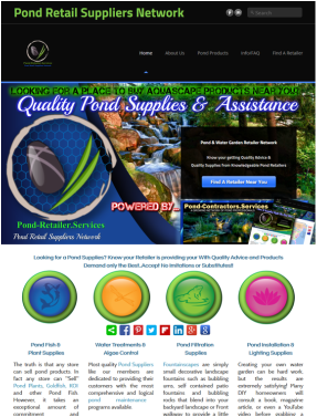 Pond Retailer Suppliers