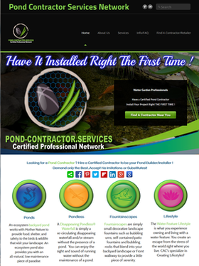 Pond Contractor Services